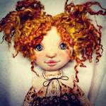 Роза Куклы ручной работы - Ярмарка Мастеров - ручная работа, handmade