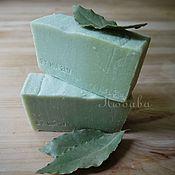 Косметика ручной работы. Ярмарка Мастеров - ручная работа Алепское мыло натуральное лавровое мыло с нуля 10% масла лавра. Handmade.