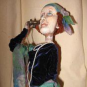 """Куклы и игрушки ручной работы. Ярмарка Мастеров - ручная работа Кукла """"Алло,алло, какие вести...?"""". Handmade."""