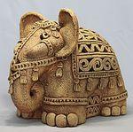 Розовый слон керамика (roseusbarrus) - Ярмарка Мастеров - ручная работа, handmade