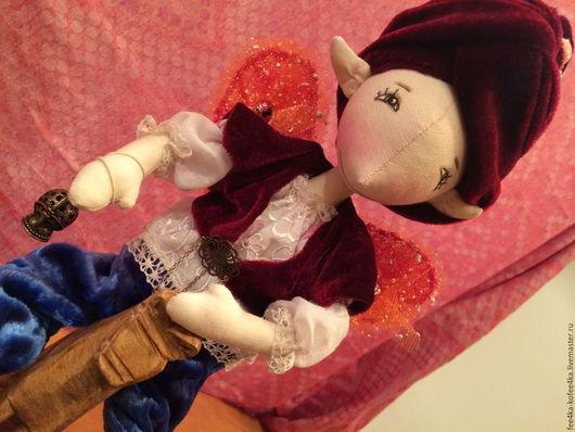 Коллекционные куклы ручной работы. Ярмарка Мастеров - ручная работа. Купить Кукла Эльфик. Handmade. Кукла на заказ, индивидуальная кукла