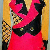 Одежда ручной работы. Ярмарка Мастеров - ручная работа Платье для выступлений по фигурному катанию.. Handmade.