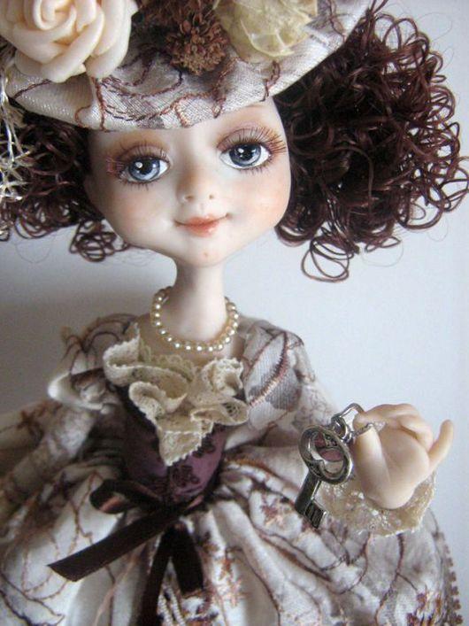 Коллекционные куклы ручной работы. Ярмарка Мастеров - ручная работа. Купить Ключик к вечернему чаю. Handmade.