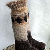Обувь ручной работы. Ярмарка Мастеров - ручная работа термоваленки. Handmade.