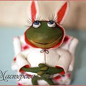 Куклы и игрушки ручной работы. Ярмарка Мастеров - ручная работа Каждая из нас - зайка. Handmade.