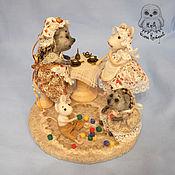 Куклы и игрушки ручной работы. Ярмарка Мастеров - ручная работа Кумушки. Чаепитие.. Handmade.