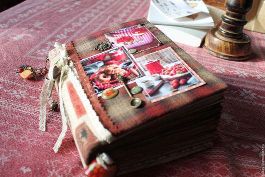 """Кулинарные книги ручной работы. Ярмарка Мастеров - ручная работа. Купить Кулинарная книга """"Мои кулинарные фавориты ..."""". Handmade."""