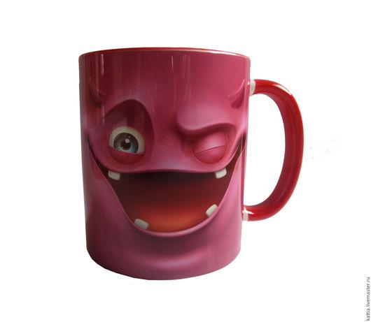 """Кружки и чашки ручной работы. Ярмарка Мастеров - ручная работа. Купить Кружка """" Pink"""". Handmade. Розовый, дорогой, с юмором"""
