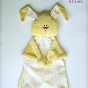 """Куклы и игрушки ручной работы. Ярмарка Мастеров - ручная работа Комфортер """"Солнечный зайчик"""". Handmade."""