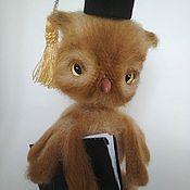 Stuffed Toys handmade. Livemaster - original item Academic owl. Handmade.
