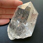 Фен-шуй и эзотерика handmade. Livemaster - original item Devika Temple Crystal, Rutile Quartz 195 g, Brazil. Handmade.