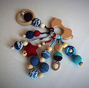 Куклы и игрушки ручной работы. Ярмарка Мастеров - ручная работа Грызунок. Прорезыватель. Слингогрызунок.. Handmade.