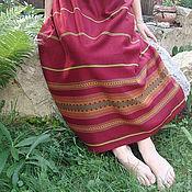 """Одежда ручной работы. Ярмарка Мастеров - ручная работа Юбка панева """"калина``. Handmade."""