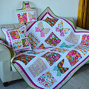 Для дома и интерьера handmade. Livemaster - original item Patchwork kit