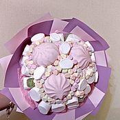 Букеты ручной работы. Ярмарка Мастеров - ручная работа Букеты: Зефирная нежность. Handmade.