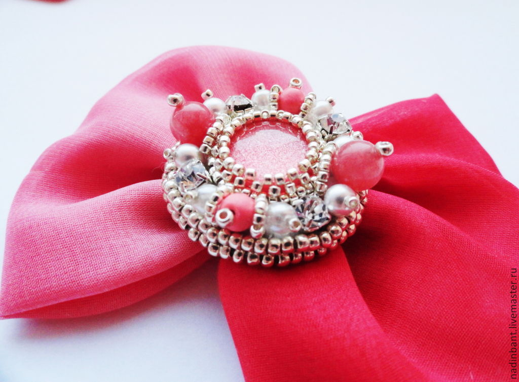 Coral brooch with Jasper, Brooches, St. Petersburg,  Фото №1
