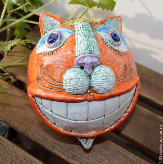 Статуэтки ручной работы. Ярмарка Мастеров - ручная работа. Купить улыбка чеширского кота 3 The smile of the Cheshire cat. Handmade.