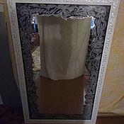 Зеркала ручной работы. Ярмарка Мастеров - ручная работа Зеркала: Витражное зеркало. Handmade.