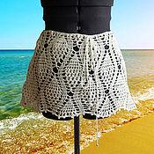 Одежда ручной работы. Ярмарка Мастеров - ручная работа Юбка короткая летняя. Handmade.