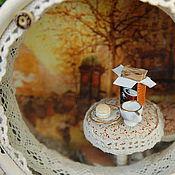 """Куклы и игрушки ручной работы. Ярмарка Мастеров - ручная работа """"Любимое кафе""""для Лены. Handmade."""