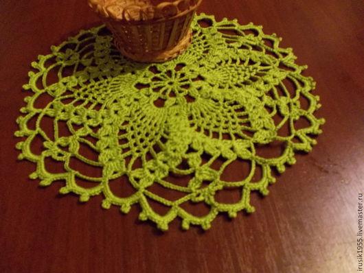 Текстиль, ковры ручной работы. Ярмарка Мастеров - ручная работа. Купить Салфетка цвета салата. Handmade. Салатовый, подарок