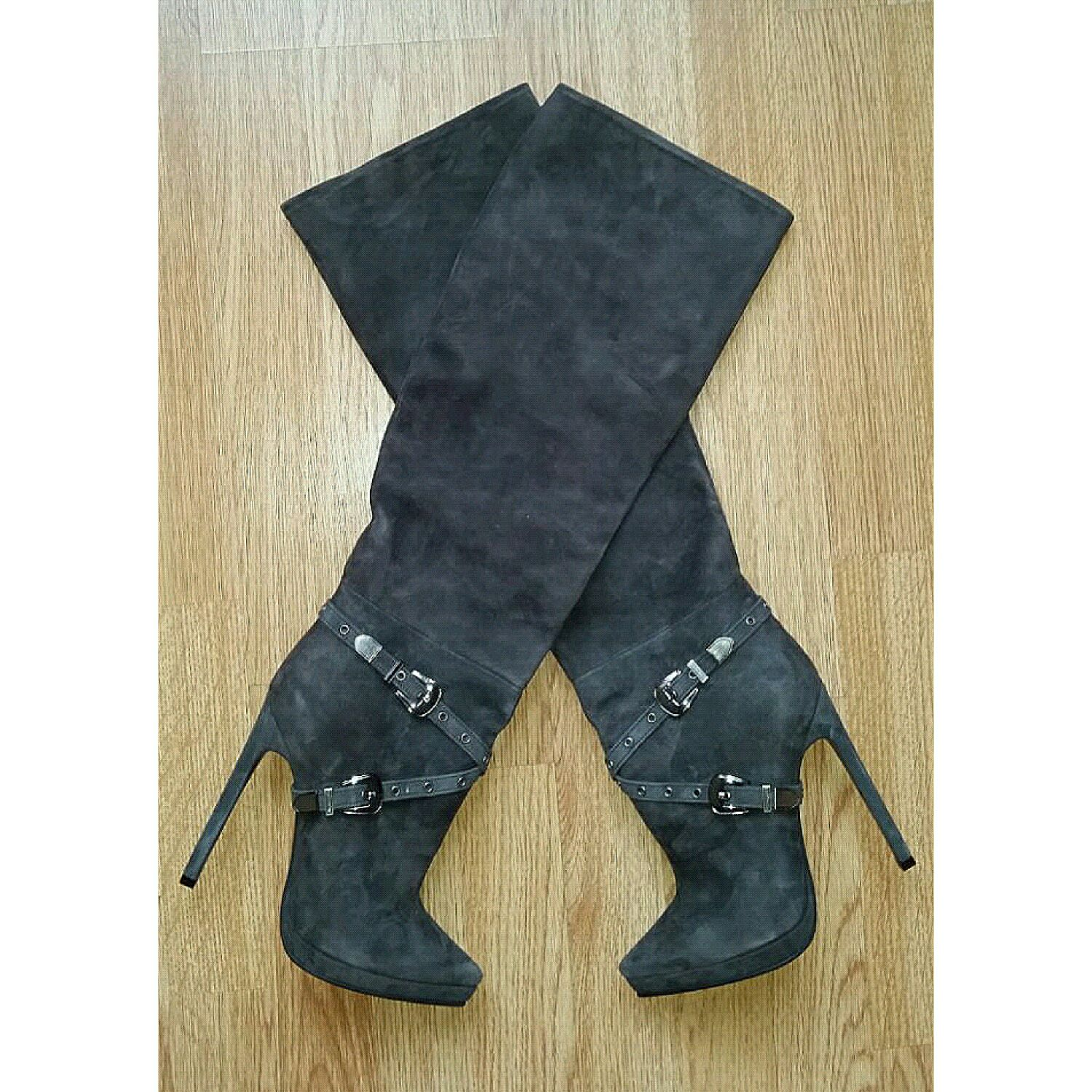 Boots handmade with the addition of accessories, High Boots, Barnaul,  Фото №1