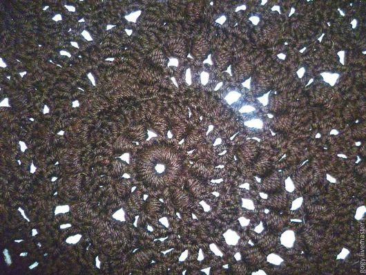 Юбки ручной работы. Ярмарка Мастеров - ручная работа. Купить Шоколадная юбка. Handmade. Коричневый, юбка крючком