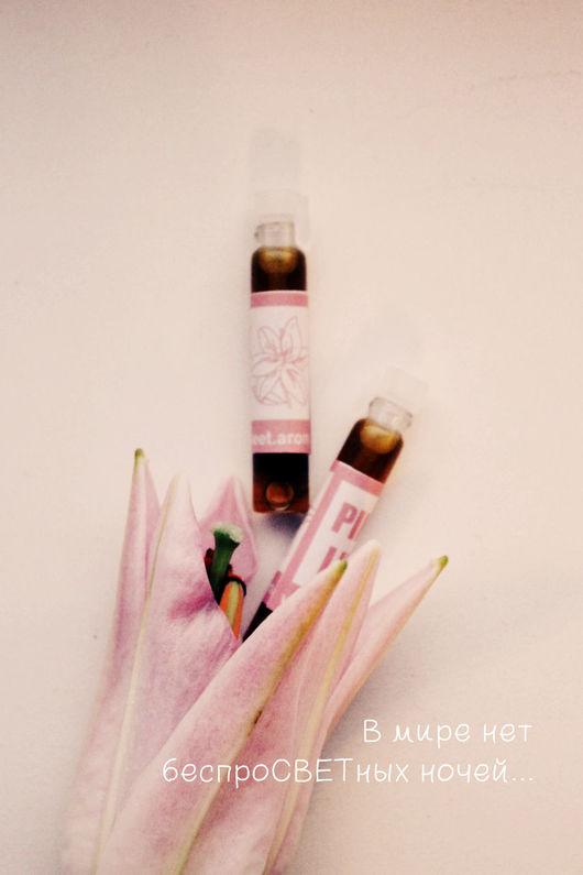 Натуральные духи ручной работы. Ярмарка Мастеров - ручная работа. Купить Аромат Pink Lily (Розовые лилии). Handmade. Розовый