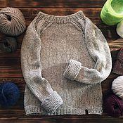 Одежда ручной работы. Ярмарка Мастеров - ручная работа Пуловер базовый. Handmade.