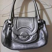 Винтаж handmade. Livemaster - original item Calvin KLEIN women`s bag silver, bag.. Handmade.