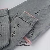 Аксессуары handmade. Livemaster - original item Hat beanie mittens