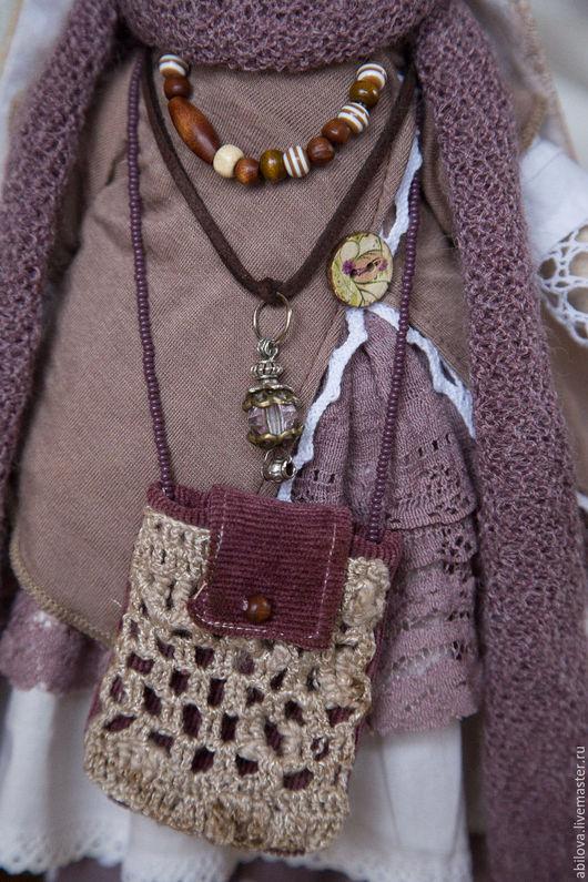 Куклы Тильды ручной работы. Ярмарка Мастеров - ручная работа. Купить Бохо - Зайка Нехама. Handmade. Бежевый, винтаж