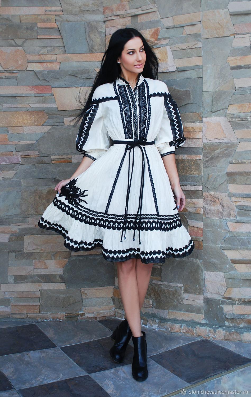 Elegant dress with lace 'Magic patterns', Dresses, Vinnitsa,  Фото №1