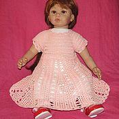 Платья ручной работы. Ярмарка Мастеров - ручная работа Розовое платье для фотосессии маленькой принцессы. Handmade.