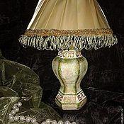Для дома и интерьера ручной работы. Ярмарка Мастеров - ручная работа Лампа фисташка. Handmade.