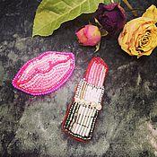 Украшения ручной работы. Ярмарка Мастеров - ручная работа Набор Розовый гламур. Handmade.