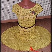 """Одежда ручной работы. Ярмарка Мастеров - ручная работа Платье """"Солнечный лучик"""". Handmade."""