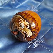 Для дома и интерьера handmade. Livemaster - original item Box Acorn Squirrel Ice age. Handmade.