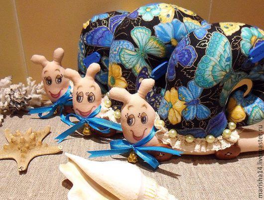 """Куклы Тильды ручной работы. Ярмарка Мастеров - ручная работа. Купить Улиточки """"Хочу быть бабочкой!"""". Handmade. Улитка, подарок для женщины"""