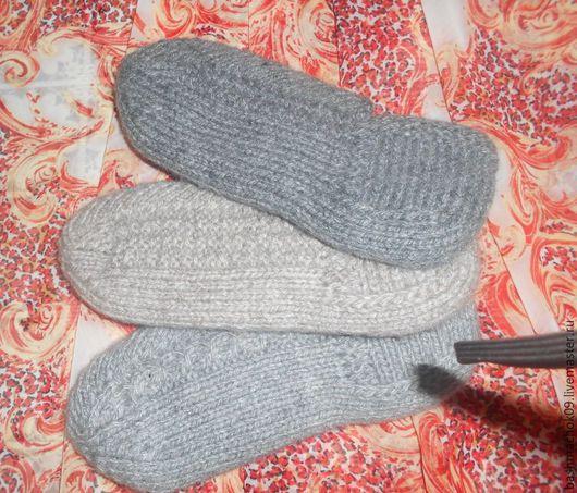 Обувь ручной работы. Ярмарка Мастеров - ручная работа. Купить Тапочки домашние в ассортименте. Handmade. Серый, тапочки женские