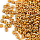 Для украшений ручной работы. Ярмарка Мастеров - ручная работа. Купить Круглый 11/0 Miyuki 4203 Duracoat Yellow Gold Японский бисер Миюки. Handmade.