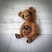 Куклы и игрушки ручной работы. Ярмарка Мастеров - ручная работа мишка тедди панда Инь-Янь. Handmade.