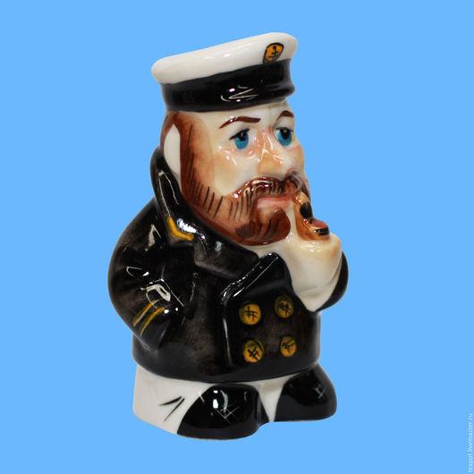 Подарки для мужчин, ручной работы. Ярмарка Мастеров - ручная работа. Купить Боцман фарфоровая статуэтка. Handmade. Комбинированный, морская тематика