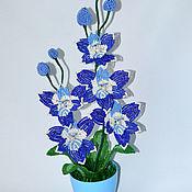 Цветы и флористика handmade. Livemaster - original item Orchid Violet. Handmade.