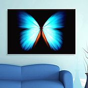 Картины и панно handmade. Livemaster - original item Luminous butterfly. Handmade.