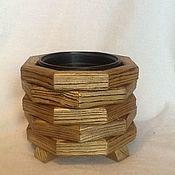 Кашпо ручной работы. Ярмарка Мастеров - ручная работа Кашпо из дерева. Handmade.