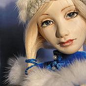 Куклы и игрушки ручной работы. Ярмарка Мастеров - ручная работа Анна (зимняя). Handmade.