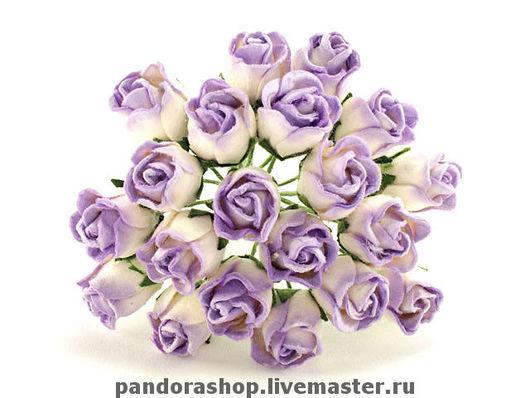 Бело-фиолетовые
