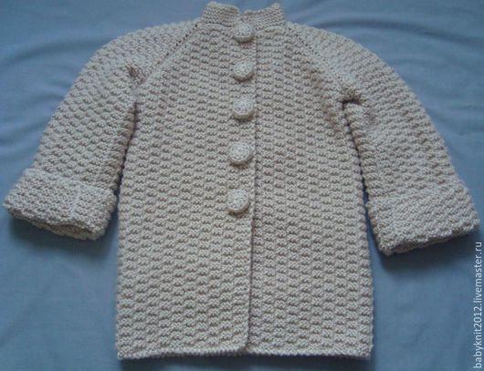 Одежда для девочек, ручной работы. Ярмарка Мастеров - ручная работа. Купить Пальто Шахматки. Handmade. Бежевый, пальто на подкладе