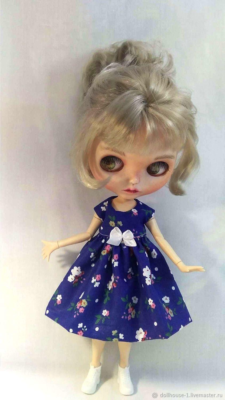 Платье для кукол Блайз, Барби и подобных деток, Одежда для кукол, Москва,  Фото №1